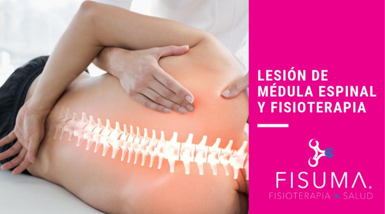 Lesión de médula espinal y fisioterapia