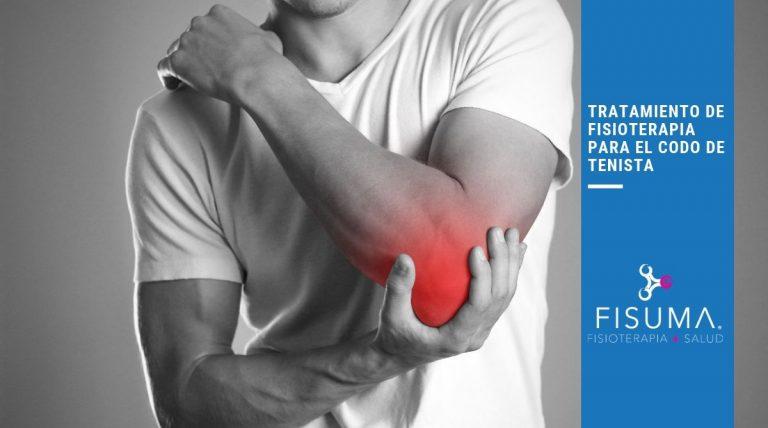Tratamiento de fisioterapia para el codo de tenista
