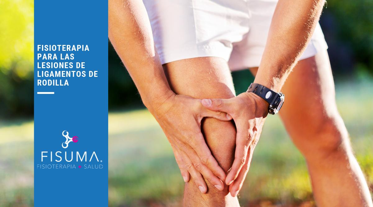 Fisioterapia para las lesiones de ligamentos de rodilla