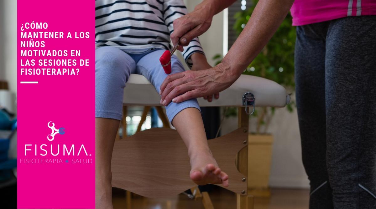 ¿Cómo mantener a los niños motivados en las sesiones de fisioterapia?
