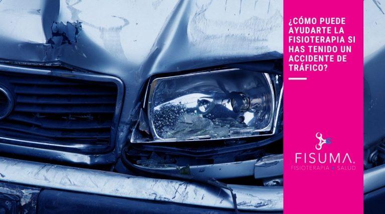 1- Accidente de tráfico ¿Cómo puede ayudarte la fisioterapia?